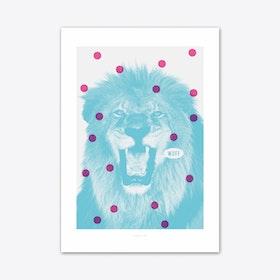 Löwe 1 Art Print