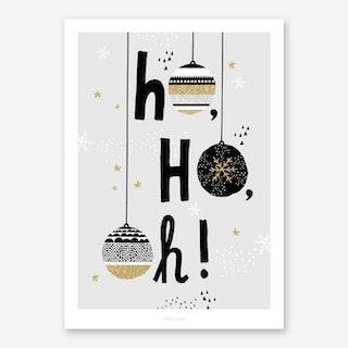 Ho Ho Oh Art Print