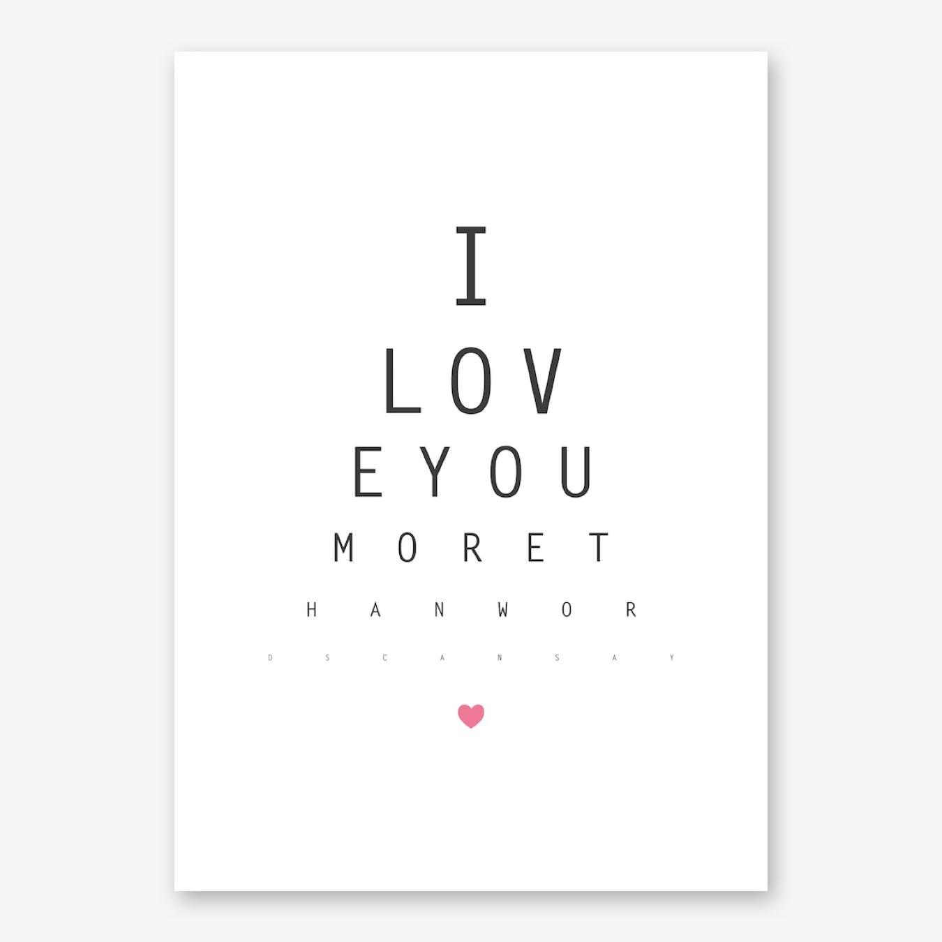 Love III Print