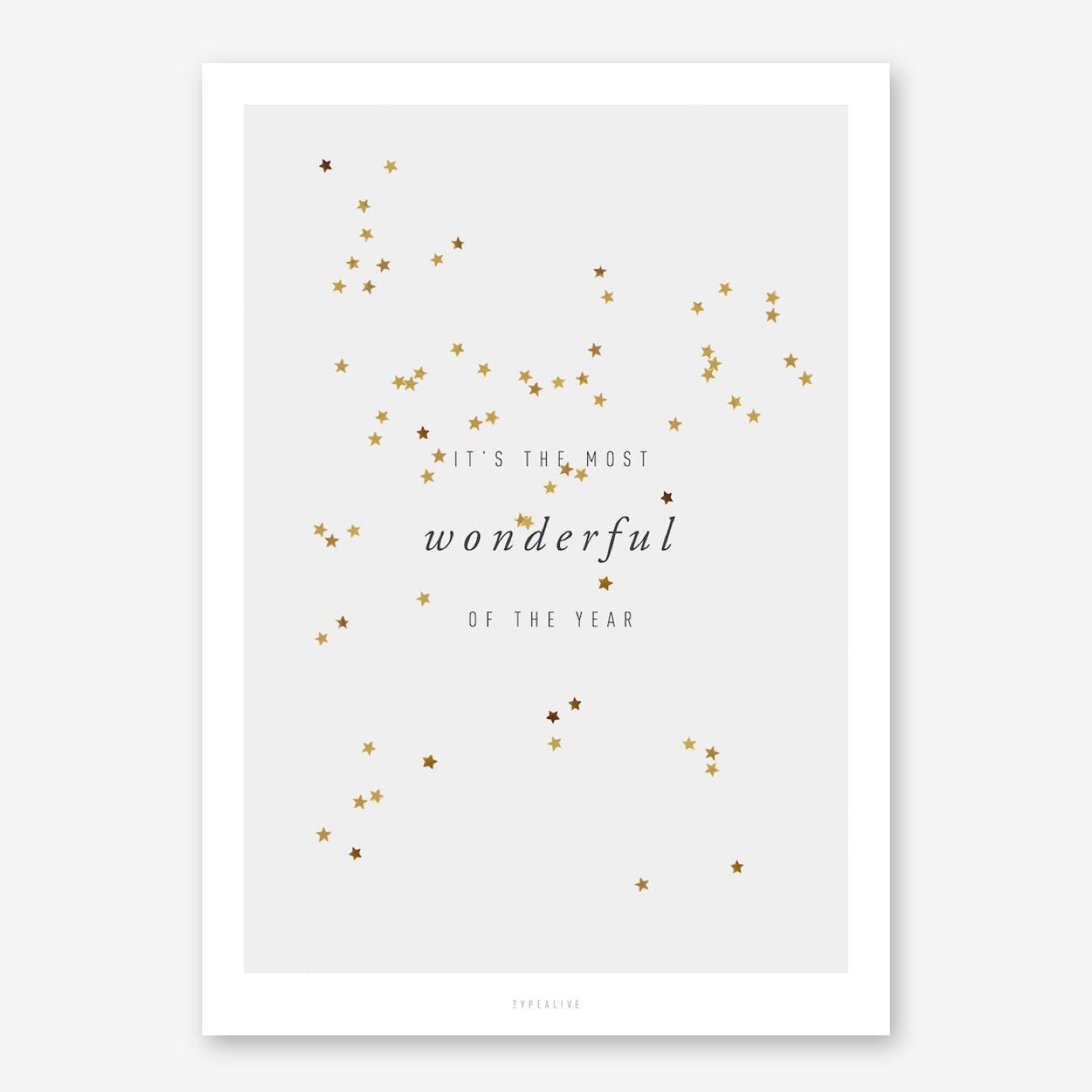 Most Wonderful Print