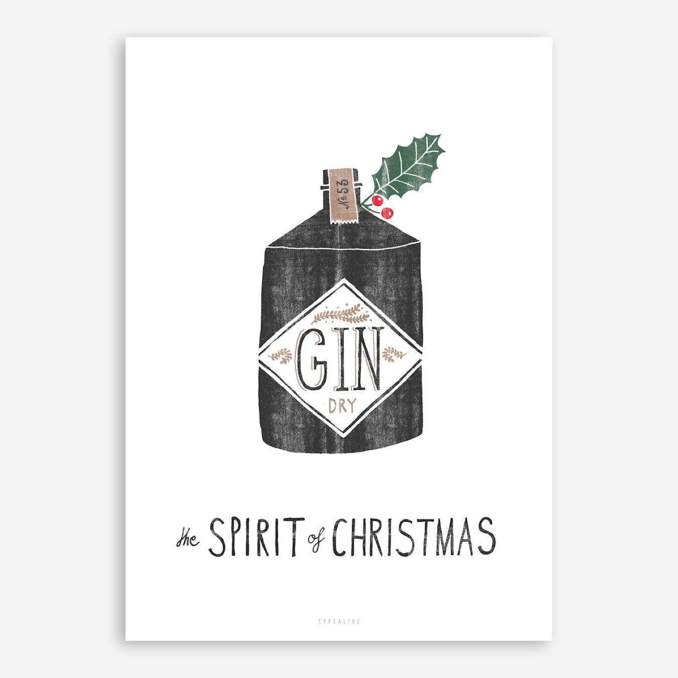 Spirit Of Christmas II Print
