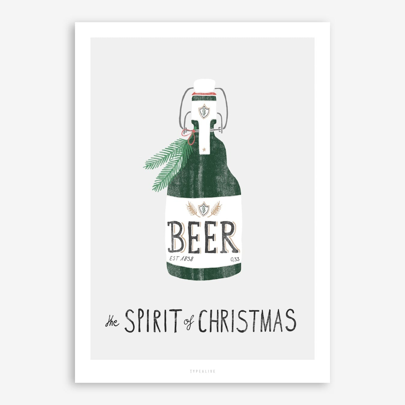 Spirit Of Christmas III Print