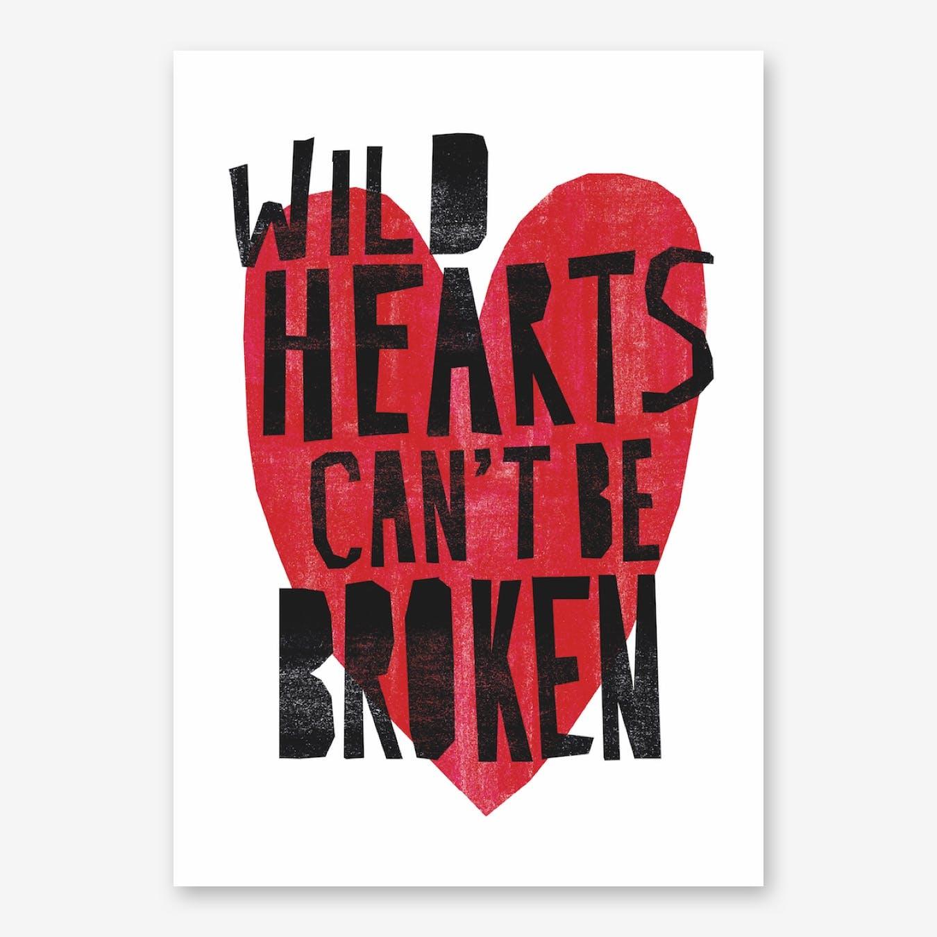 Wild Hearts Print