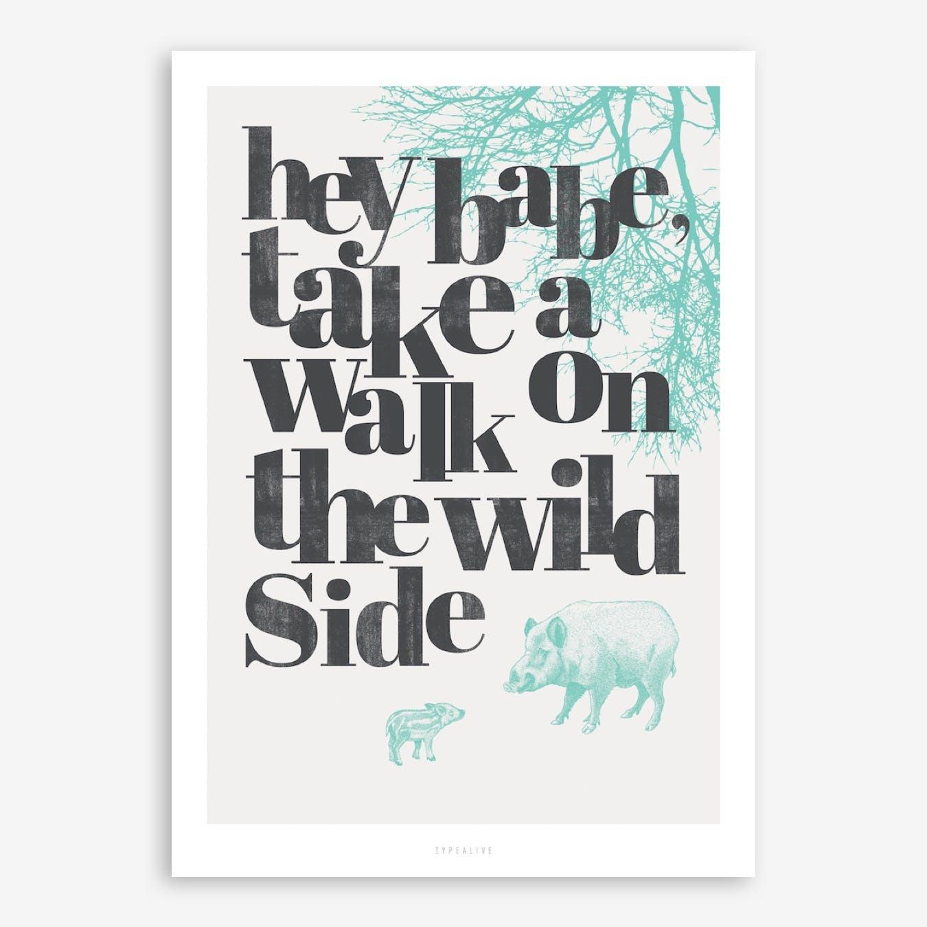 Wild Side Print