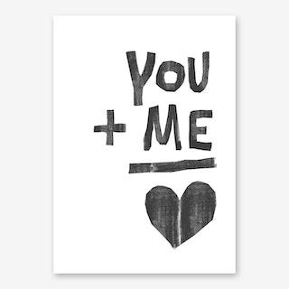 You And Me II Art Print
