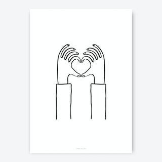 Heart You Art Print