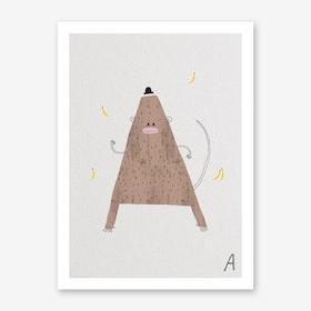 ABC Kids A Art Print