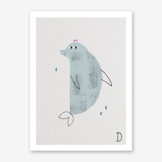 ABC Kids D Art Print