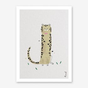 ABC Kids J Art Print