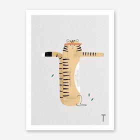 ABC Kids T Art Print