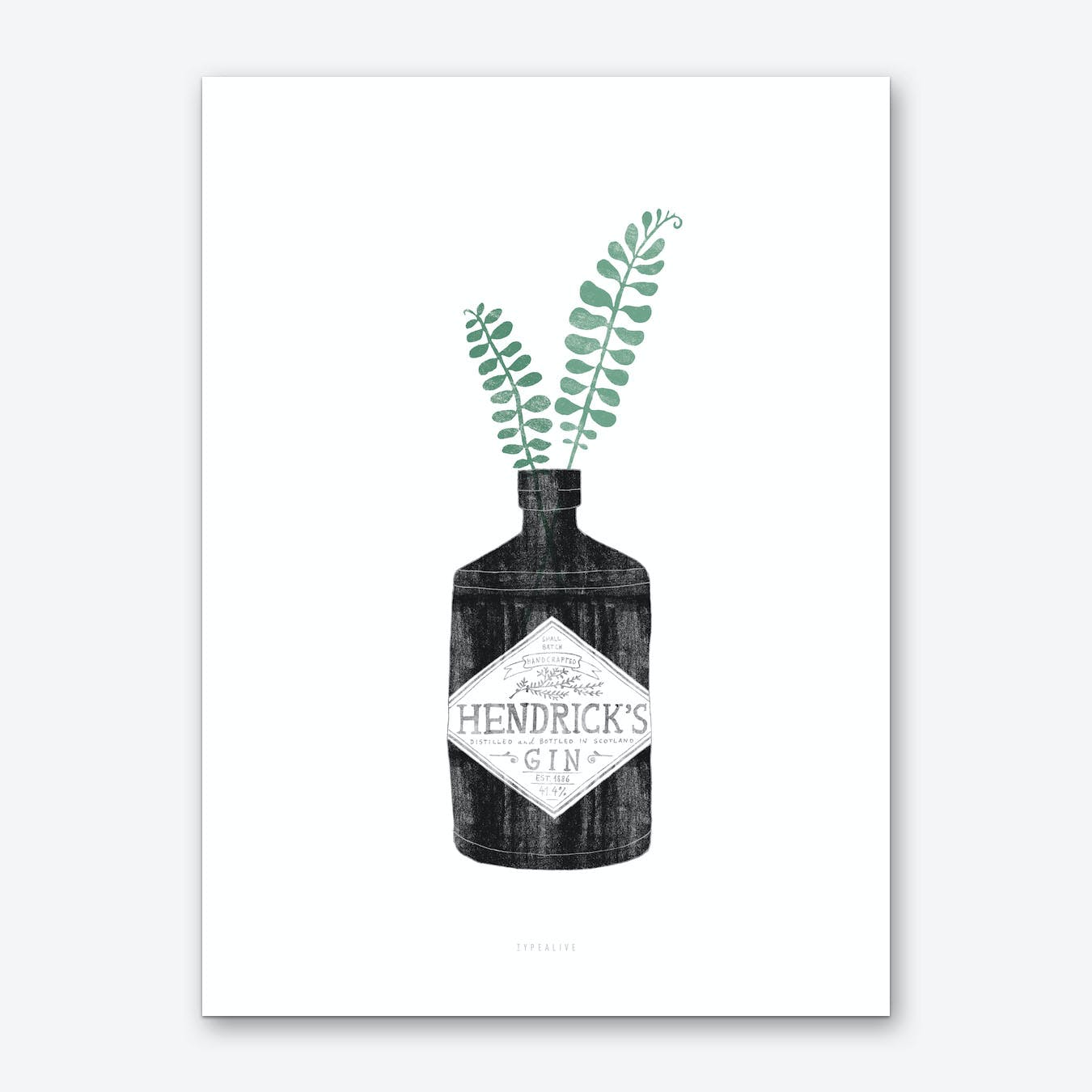 Urban Jungle 2 Art Print