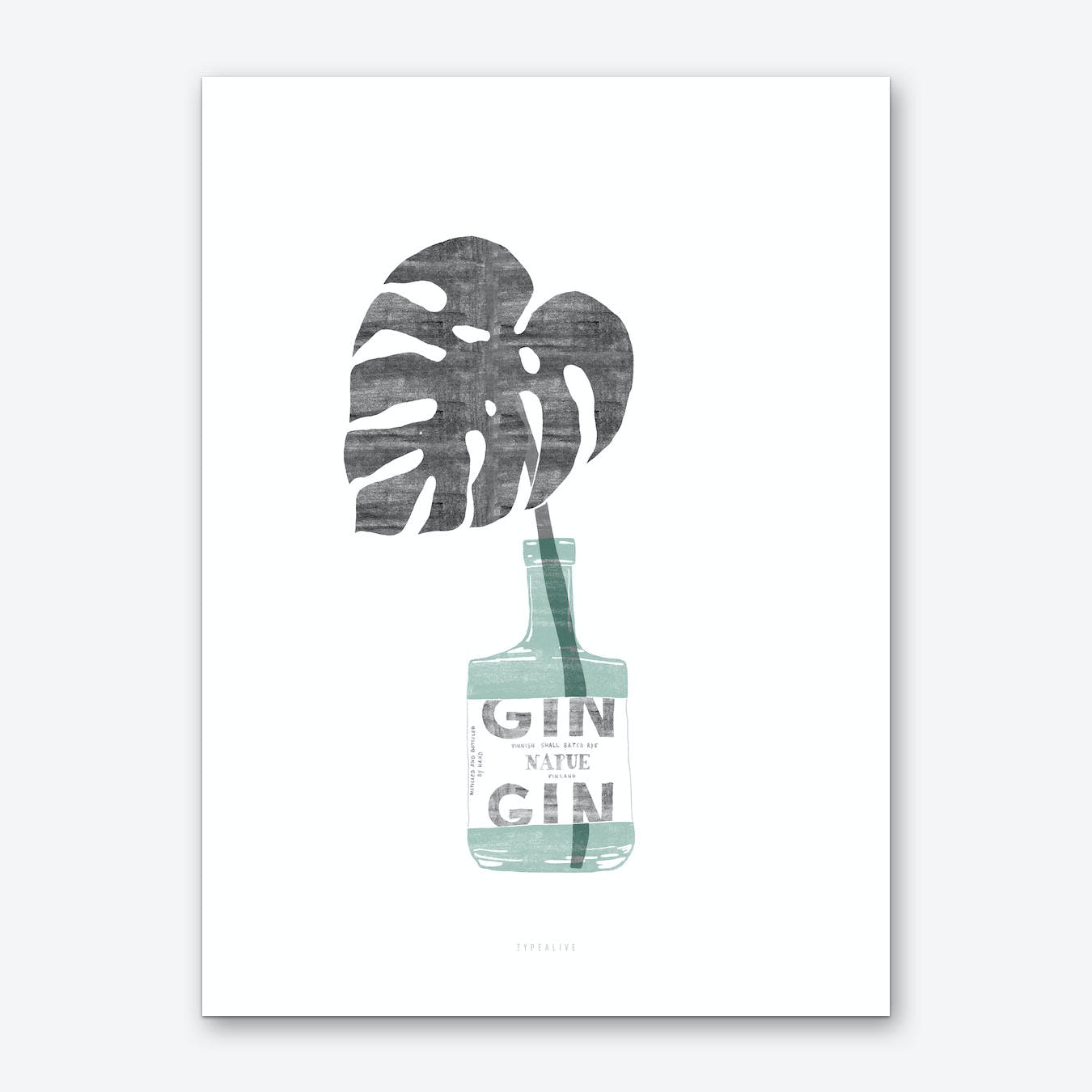 Urban Jungle 4 Art Print