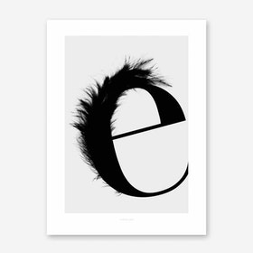 ABC Flying Letters 5 Art Print