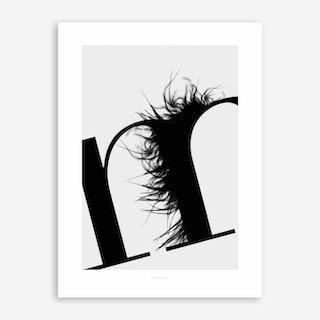 ABC Flying Letters 13 Art Print