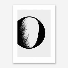 ABC Flying Letters 15 Art Print