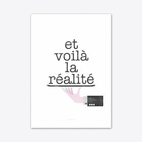 Réalité 1 Art Print