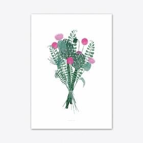 Wallflower 1 Art Print