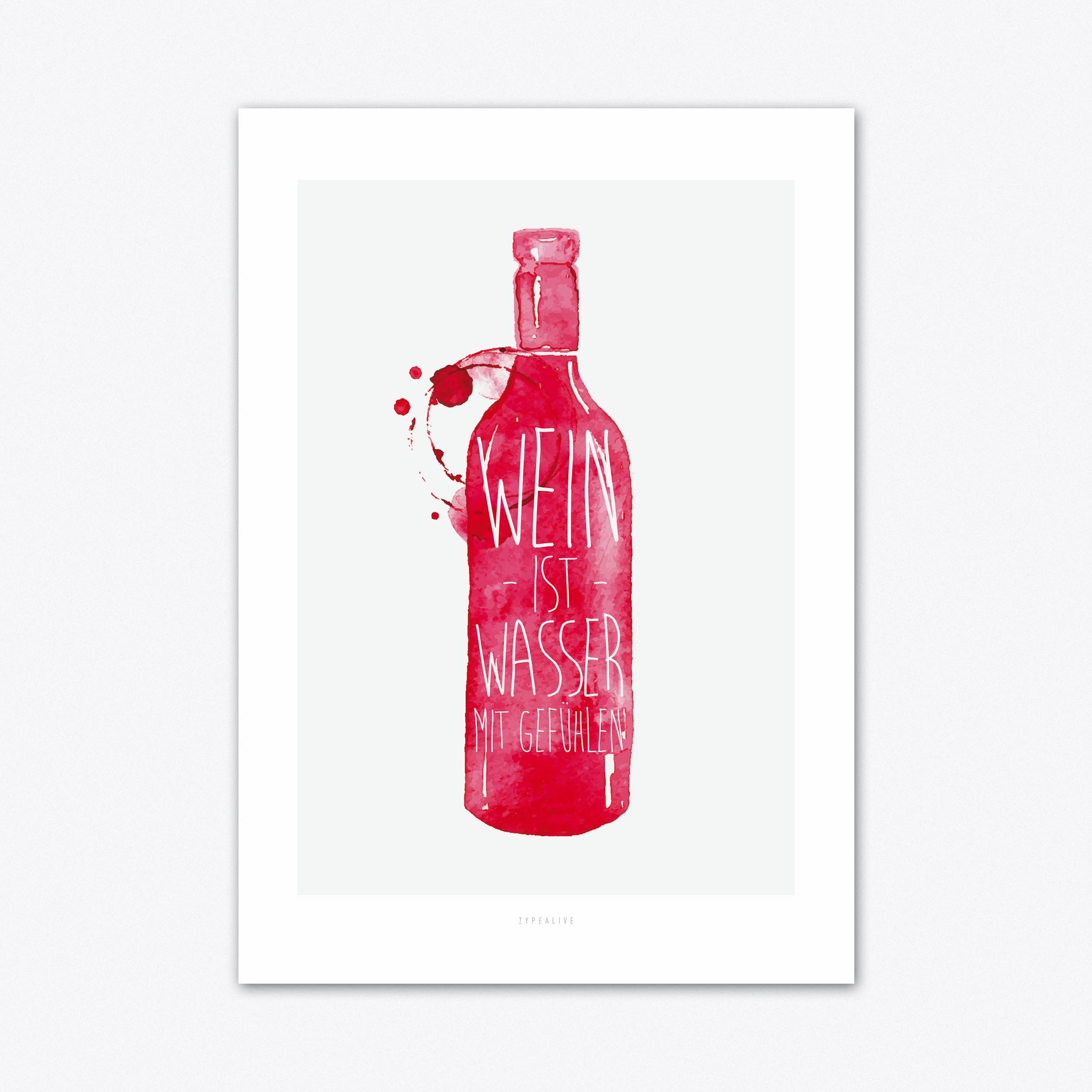 Wein Art Print