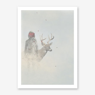 A Rose Above Art Print