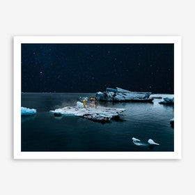 Space Invader Art Print