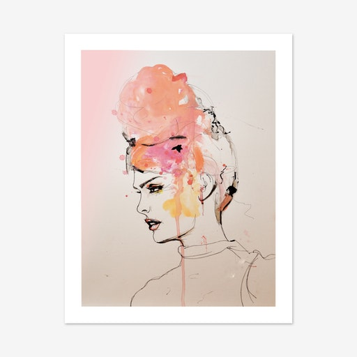 Insouciant Art Print