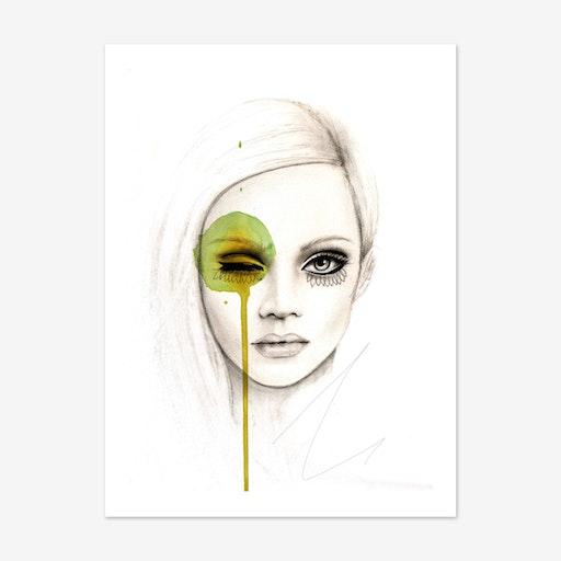 Fused Art Print