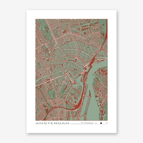 Amsterdam Pop Art Print