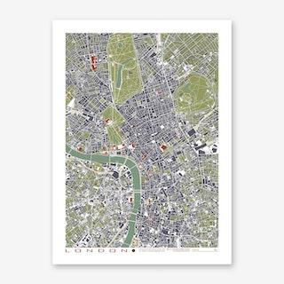 London Engraving Art Print