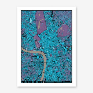 London Twilight Art Print