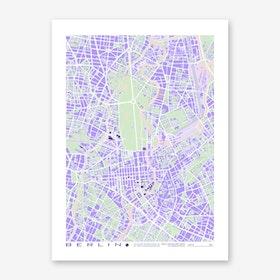 Berlin Violet Art Print