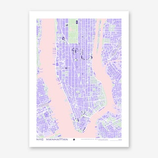 New York Violet Art Print