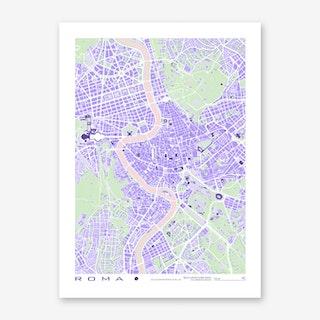 Rome Violet Art Print
