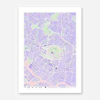 Tokyo Violet Art Print