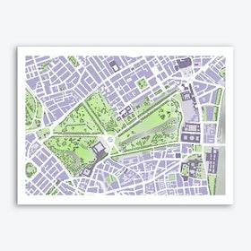 Green park - St. James park - London Art Print