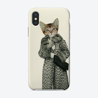 Kitten Dressed As Cat Phone Case