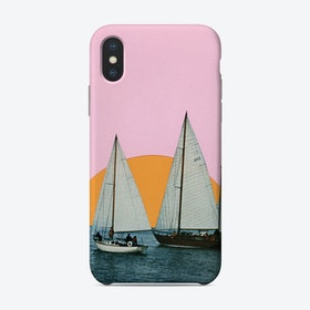 Into The Sunset Phone Case