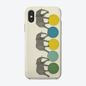Traveling Elephants Phone Case