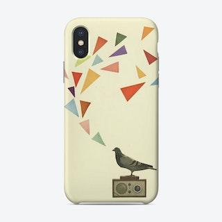 Pigeon Radio Phone Case
