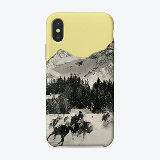 Winter Races Phone Case