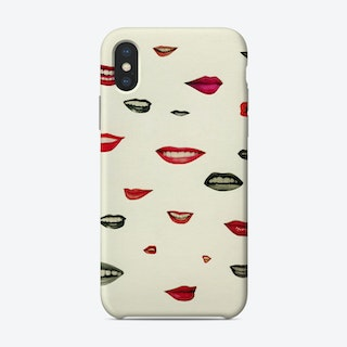 Stealing Kisses Phone Case