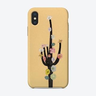 Flowering Cactus Phone Case