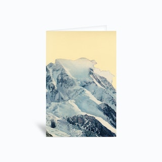 Avalanche Greetings Card