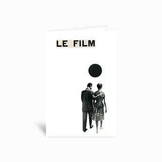Le Film Greetings Card