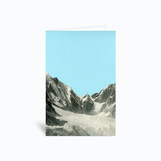 Blue Skies Greetings Card