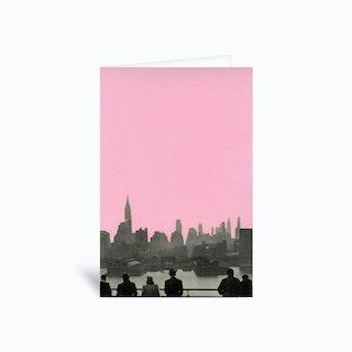 New York Nights Greetings Card
