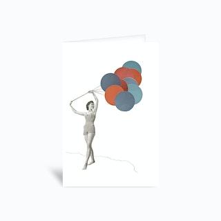 Balloons Greetings Card