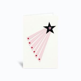 Shooting Star Greetings Card