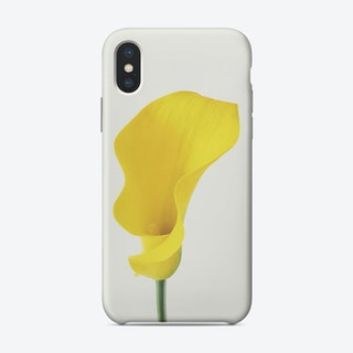 Yellow Calla Lily Phone Case