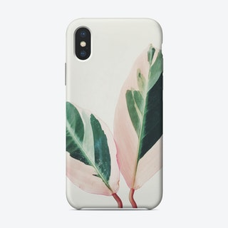 Pink Leaves I Phone Case