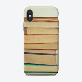 Stack Of Books Phone Case